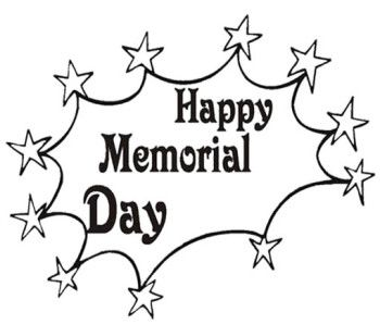 memorial day coloring sheets free
