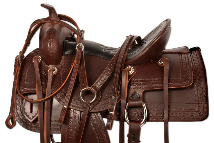 16 - 18 Comfortable Old West Trail Endurance Horse Saddle Only $449.99 on sale for a limited time!