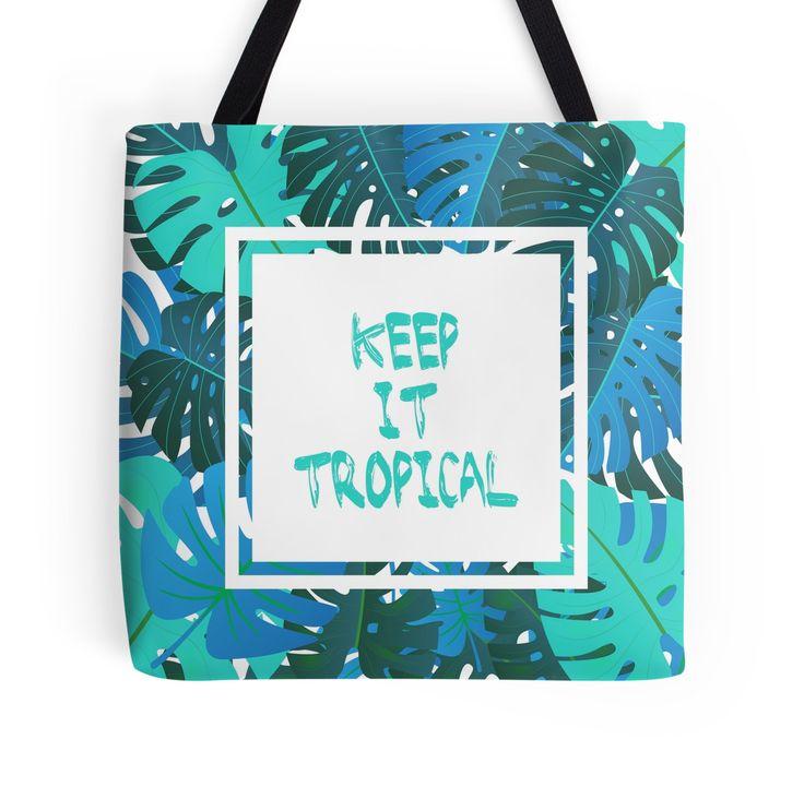 Keep it #tropcal No.2 in BLUE by Didi Kasa