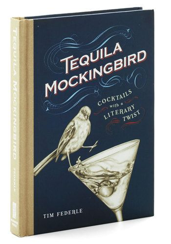 Plot your next book club meeting in by consulting this compendium of 'novel' cocktail recipes that pay homage to your favorite books, including Gin Eyre, Vermouth the Bell Tolls, the Wonderful Blizzard of Oz, Gone with the Wine, and the Last of the Mojitos.