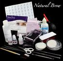 Natural Brow™ Eyebrow extensions, eyebrow wigs, and false eyebrows.  Three different kit options with plenty of add on's available!