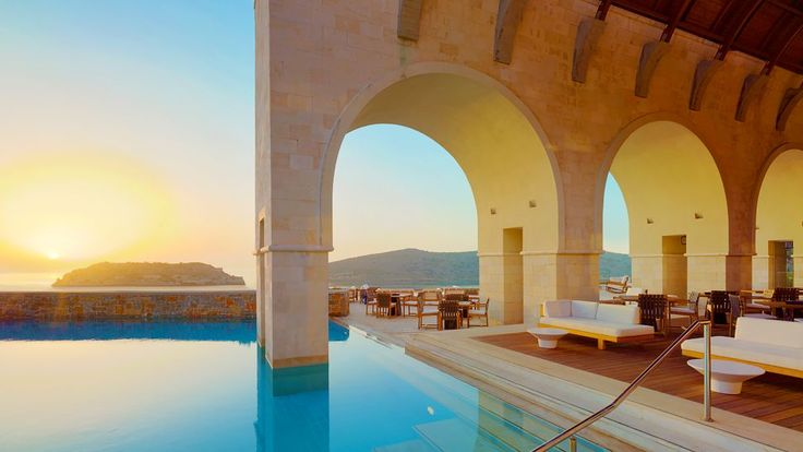 The Blue Palace Resort & Spa in Crete, Greece