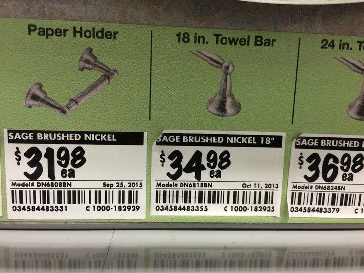 3rd price on brushed nickel
