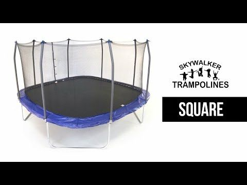 Rectangle & Square Trampoline Models: Best of 2017 Announced