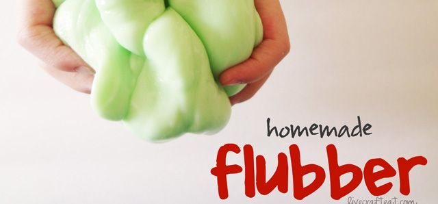 Try out this super easy homemade flubber recipe. It only takes five minutes to prepare but will delight your kids for hours.