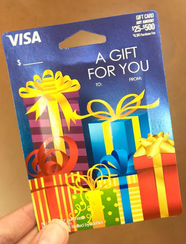 Pin On Visa Gift Card