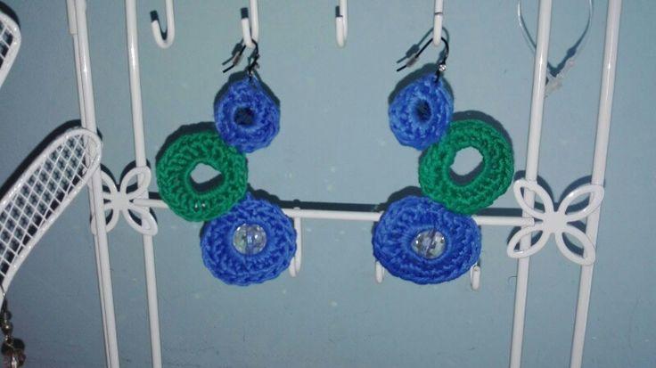 Bijoux - orecchini in uncinetto