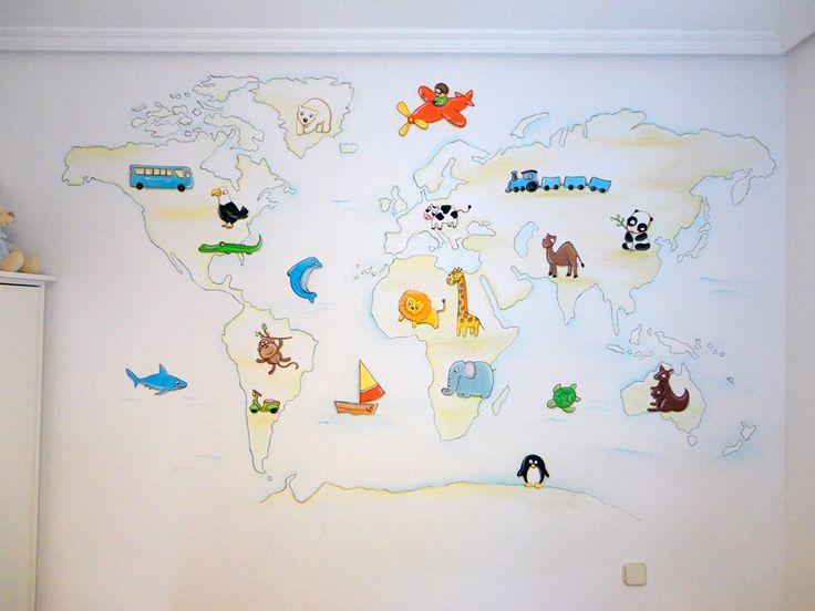 1000 images about murales infantiles en pinterest for Murales infantiles