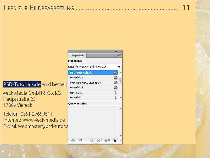 Schaltflächen und Links in InDesign CS6 | InDesign-Tutorials
