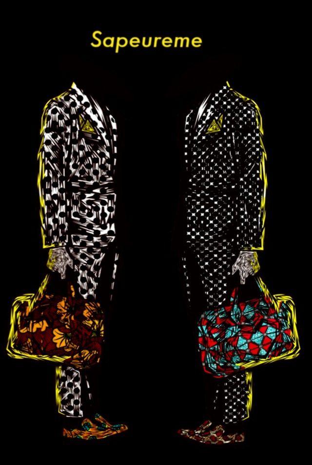 The Supreme Sapeurs - Sapeureme  #congo #patterns #colors #africa #style #textiledesign