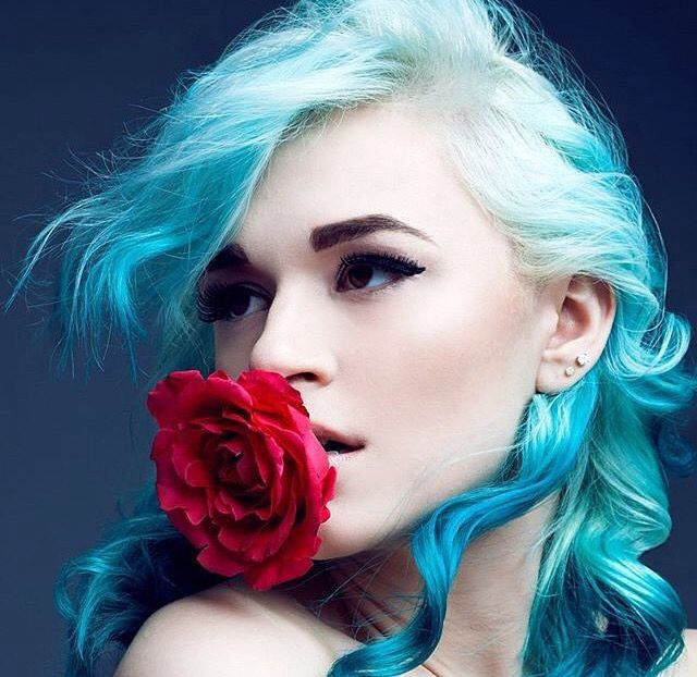Turquoise hair color #prohairtools