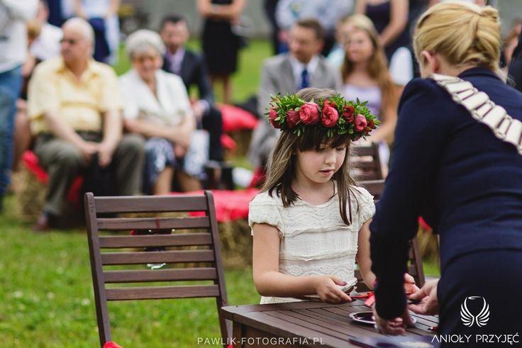 7. Rock Wedding,Outdoor ceremony / Rockowe wesele,Ceremonia w plenerze,Anioły Przyjęć