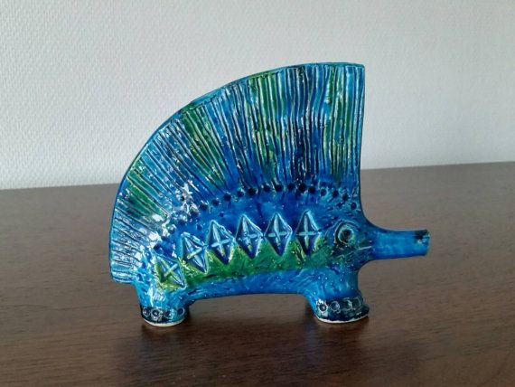 Check out this item in my Etsy shop https://www.etsy.com/se-en/listing/245422723/bitossi-rimini-blue-porcupines-mid