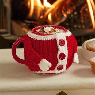 Mug with Knitted Jacket