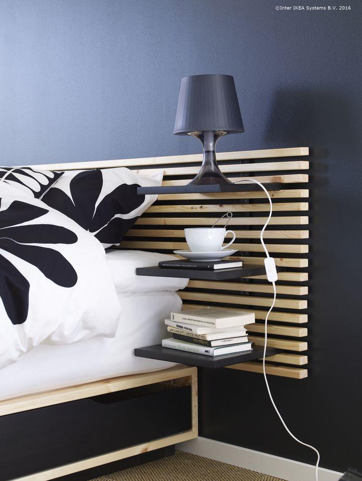 Poți elibera spațiul de pe podea cu ajutorul unei tăblii de pat.