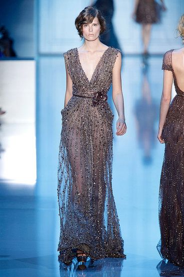 Elie Saab Couture. Omg, I need this dress. My flat chest would look so lovely...