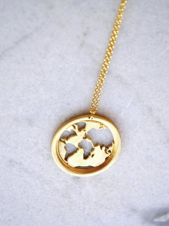 22 best travel collection images on pinterest wanderlust world world map necklace gifts for women send off gifts travel necklace globe necklace world necklace world traveler traveler gift gumiabroncs Image collections