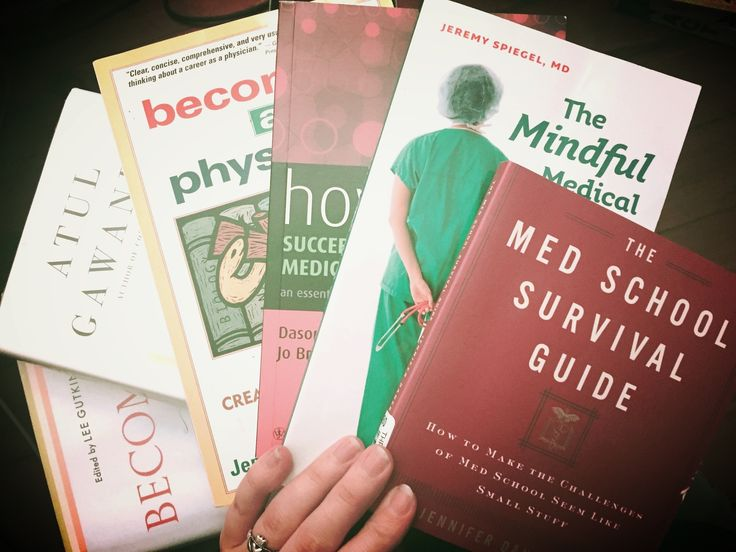 Books to get me ready for medical school. #medschool #premed