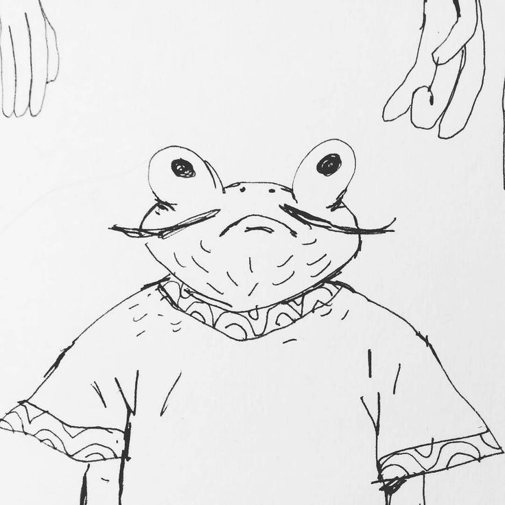 ___ #frog #animal #illustration #art #artist #instaart #dailyart #artoftheday #doodleartist #pen #pencil #drawing #drawings #sketch #scribble #picoftheday #sketchbook #doodle #kunst #dessin #dibujo #newartwork #instadaily