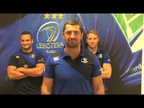 ▶ Canterbury Quick Clips | A Minute With Leinster Rugby (Rob Kearney) - YouTube