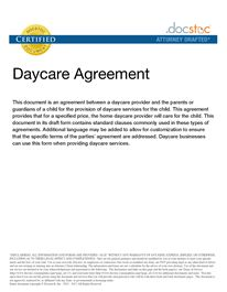 The 25+ best Daycare contract ideas on Pinterest | Daycare ideas ...