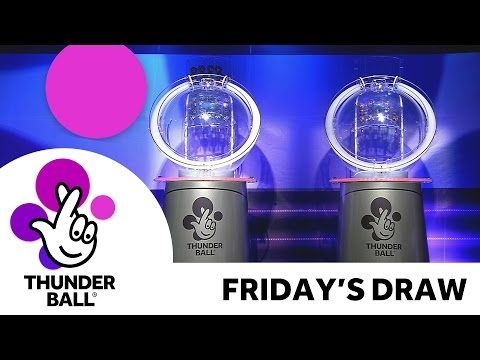 The National Lottery 'Thunderball' draw results from Friday 28th October 2016 - (More info on: http://1-W-W.COM/lottery/the-national-lottery-thunderball-draw-results-from-friday-28th-october-2016/)