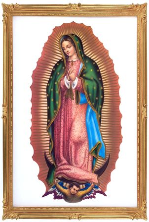 Santos Milagrosos: Virgen de Guadalupe