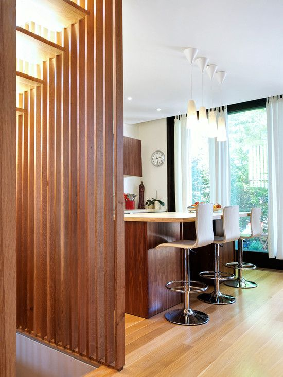 Decorative Wood Partition