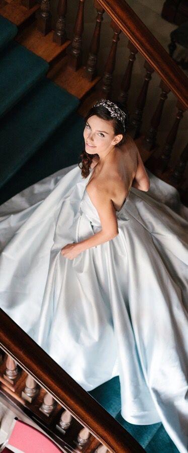 Sareh Nouri Fall 2016 via @jena1125. #bridal #wedding
