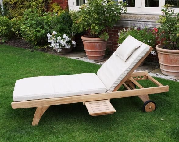 Details And Photo Of Our Oxford Lounger With Tray, The Ultimate In  Relaxation For Sun Worshippers; Features Multi Position Back Support And A  Sliding Tray. Design Inspirations