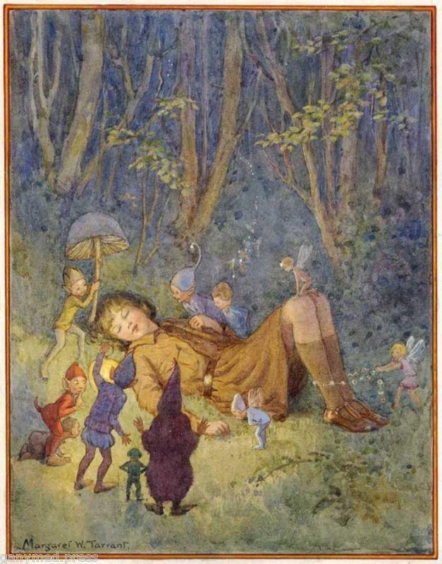 A Brownie's Dream by Margaret W. Tarrant (1888-1959)