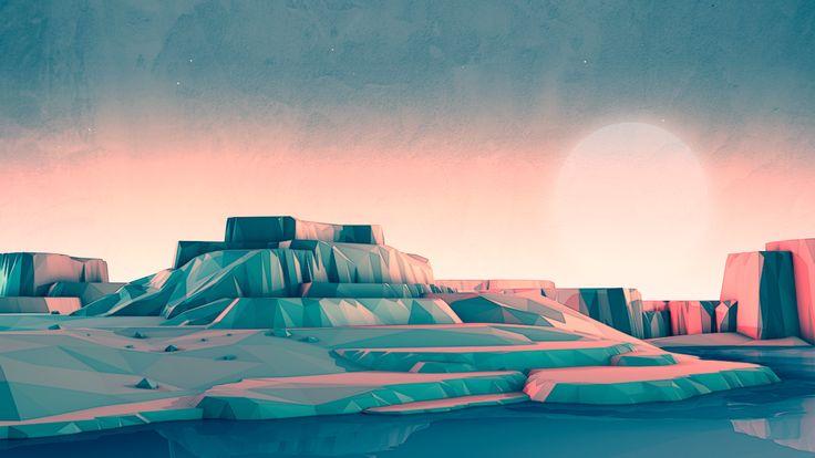 Mark Kirkpatrick y sus horizontes geométricos | Blog de diseño gráfico y creatividad.