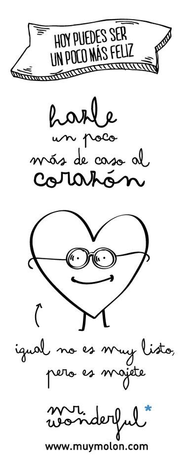 mr wonderful! muy muy molon
