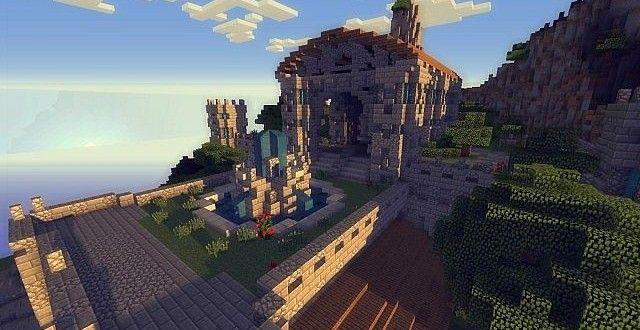 The Kings Garden   Minecraft Building Inc