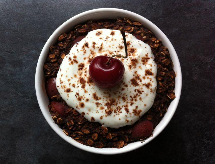 Black Forest GâteauBaked Porridge