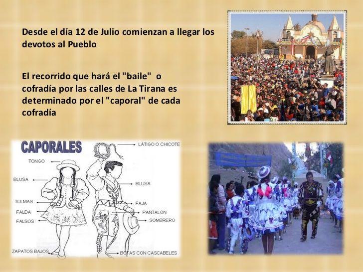"""Desde el día 12 de Julio comienzan a llegar los devotos al Pueblo El recorrido que hará el """"baile""""  o cofradía p..."""