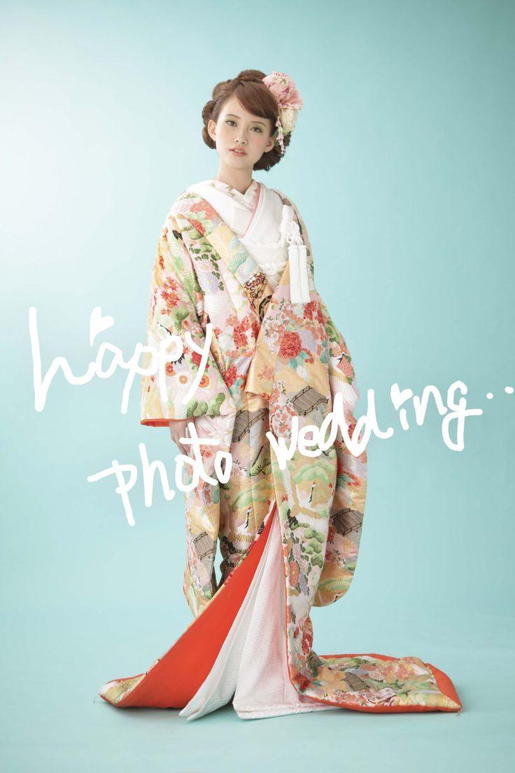 可愛い♡ロマンチックな和装のイメージをあつめましたにて紹介している画像