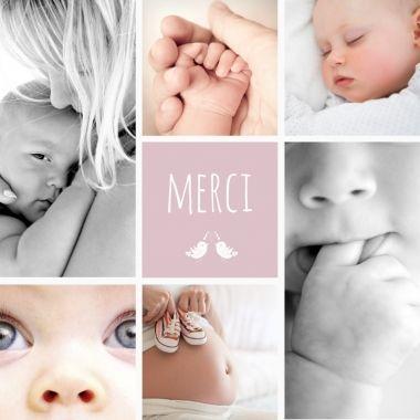 Un de vos modèles préféré de notre collection de remerciements de naissance.  Personnalisez cette mosaïque avec les photos de votre nouveau trésor : http://www.lips.fr/impression/carte-remerciement-naissance/format-130-x-130-2p-modele.html?modele_id=403  #lips.fr