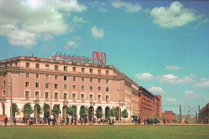 Plac Centralny, lata 50, W. Pental