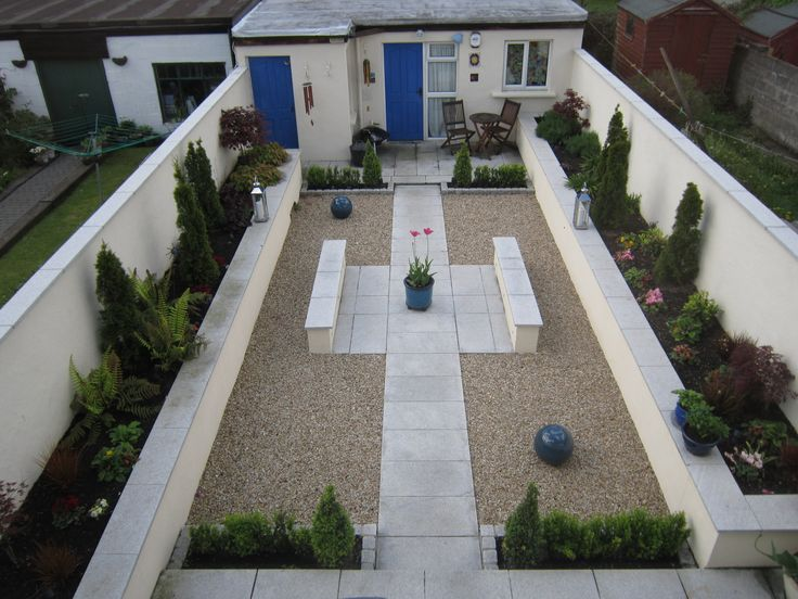 A garden we landscaped for a client.