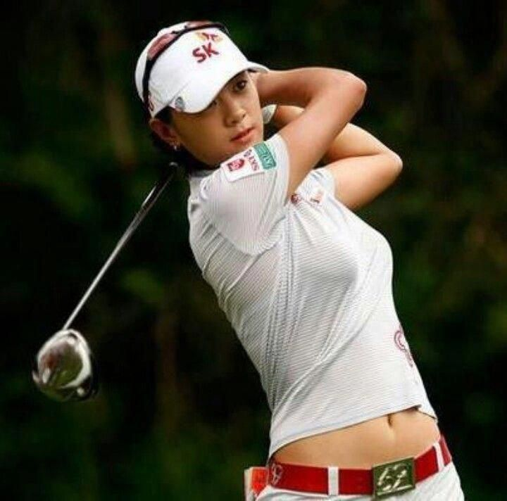 Golf women are everywhere looking super