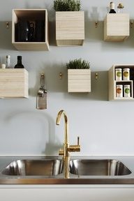 cubes/shelves
