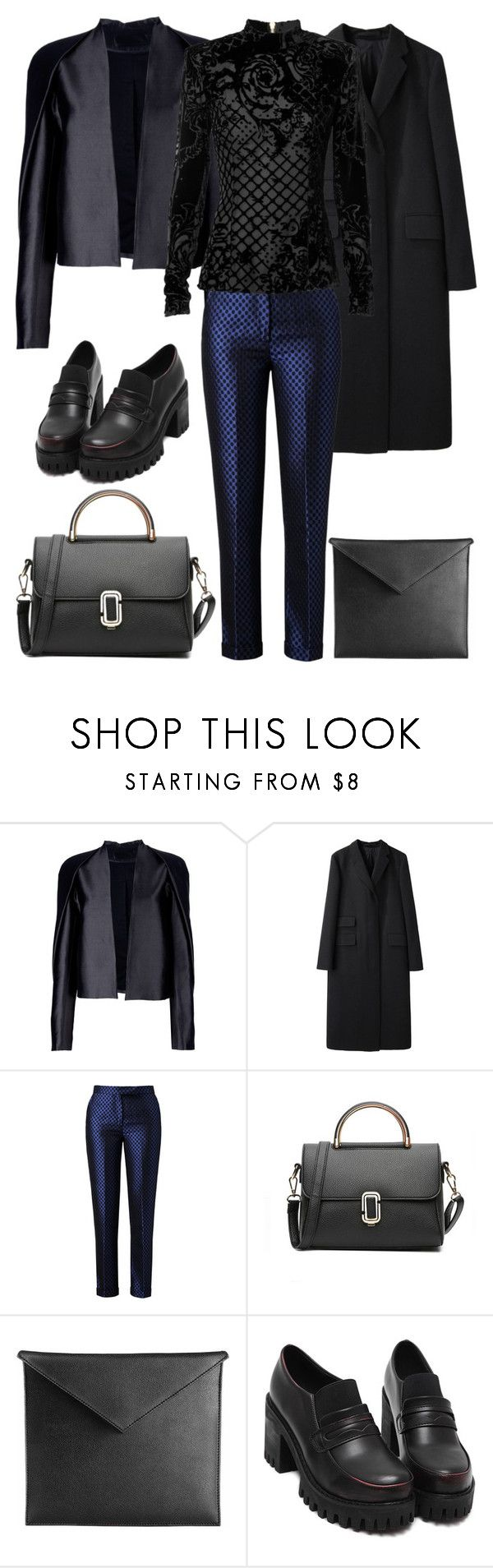 """""""2018"""" by skyl19 ❤ liked on Polyvore featuring Haider Ackermann, Margaret Howell, Osman Yousefzada and Mark/Giusti"""