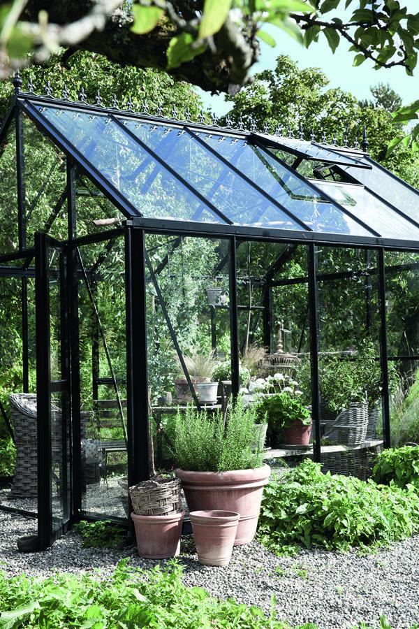 #greenhouse #black #aluminum