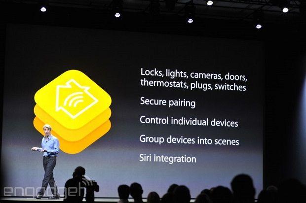 アップルのスマートホーム規格 HomeKit 発表。家電や錠を集中コントロール。Siriで音声操作にも対応 - Engadget Japanese