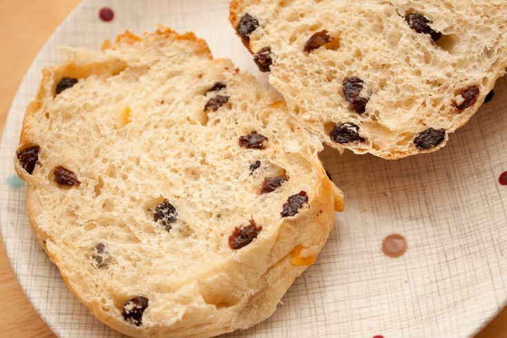 Fruited teacakes made with currants and mixed peel, delicious served toasted with butter.