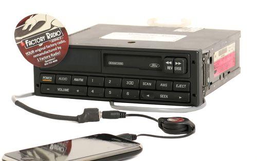 Reman & Aux Mod SERVICE for 1992 Ford Taurus Mercury Sable AM FM Cassette Radio