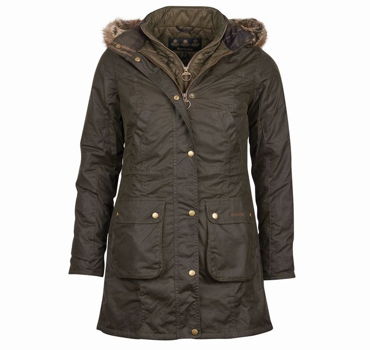 Barbour Helsby Parka Wax Jacket | Barbour | Womens | Barbour