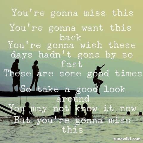 Trace Atkins ~ You're Gonna Miss This