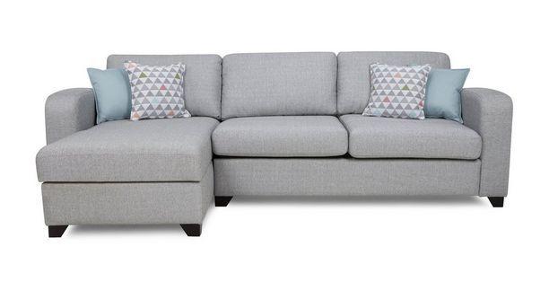 Lydia Left Hand Facing Chaise End 3 Seater Deluxe Sofa Bed  Lydia | DFS